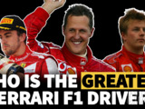 Who is the greatest Ferrari F1 driver of all time?