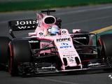 Force India officially unveils pink-liveried VJM10 in Melbourne