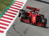 Barcelona F1 testing: Vettel puts Ferrari on top for first time