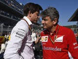 Ferrari need a calculator jokes Mercedes' Wolff as they disagree on engine freeze rules