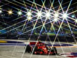 Singapore GP F1 practice: Raikkonen fastest, Vettel hits wall in FP2