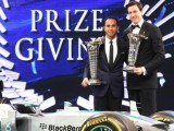 Hamilton officially crowned at FIA Prize-Giving Gala