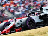 Haas achieves best ever qualifying result in Germany