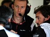 Alonso brushes off 'fault' comments