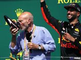 Australian cricketer Andrew Tye plans Daniel Ricciardo shoey celebration