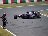 Carlos Sainz Jr can't explain big Japanese GP practice crash