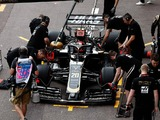 Black flags for Haas duo; nervy moment for Gasly