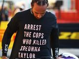 FIA investigating Hamilton for Breonna Taylor T-shirt