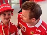 Crying Kimi Raikkonen fan up for Laureus 'best moment' award