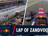 Watch: Take a lap of Zandvoort with Verstappen