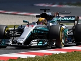 Hamilton scores 12th 'hat-trick' in Spain