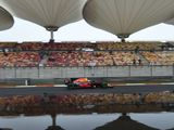 Max Verstappen fastest in FP1 after Shanghai weather limits running