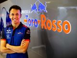 Toro Rosso's Albon Not 'Set Any Long-Term Goals' Ahead Of Rookie F1 Season