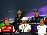 Thursday's FIA press conference