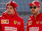Ferrari's Leclerc 'happy' for Vettel stay despite clashes