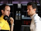Palmer blames wind for first Sepang spin