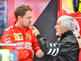 Ecclestone urges Vettel to walk away from Ferrari