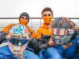 Norris and Sainz mark World Mental Health Day with self-designed helmets