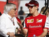 Vettel shrugs off Ecclestone comments