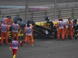 Halo did not compromise Hulkenberg extraction after Abu Dhabi crash