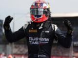 Evans wins GP2 thriller