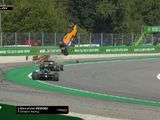 F3 driver Peroni walks away from massive crash at Monza