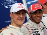Hamilton 'humbled' as he comes full circle to match Schumacher