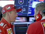 Late scare for Vettel as Raikkonen heads Ferrari 1-2 in FP3