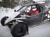 Racing on ice: Cross-karting with Valtteri Bottas