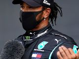 Hamilton recovers from spin for British GP pole