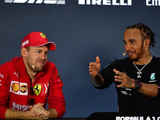 Hamilton censors self amid Ferrari talk