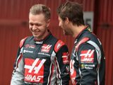 Magnussen 'the best team-mate I've had' since Alonso, says Grosjean