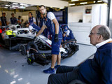 Sir Frank Williams admitted to hospital