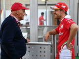 Vettel recalls Lauda letter after F1 legend's passing