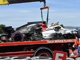 Sauber's Marcus Ericsson blames wind for French GP practice crash