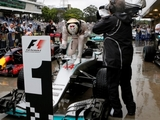 Hamilton was 'just chilling' in Brazil win
