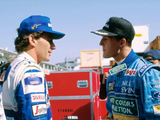 Senna quicker than Schumacher, says Alesi