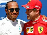Hamilton 'really happy' for Vettel