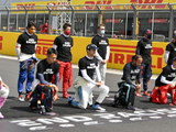 """Hamilton hopes for """"more united"""" front after seven drivers opt not to take a knee"""