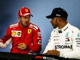Lewis Hamilton, Ferrari drivers dispute 'interesting tactics' after clash