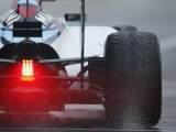 Massa fastest as rain affects second session