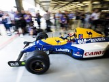 Williams FW14B runs for first time since 1992 on 40th anniversay