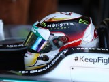 Hamilton 'not disappointed', 'still there for the fight'