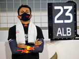 Albon 'not sitting here with violin in hands'
