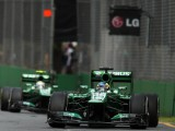 Caterham happy with drivers despite inexperience