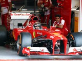 Rigon and Ferrari not looking at laptimes at test
