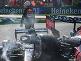 Max Verstappen hits out at 'hypocrites' who said he walked away from Lewis Hamilton crash