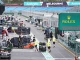 Delay allows for circuit changes at Albert Park