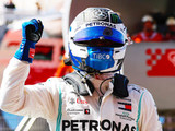 Bottas takes pole in Austin