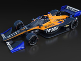 McLaren Indycar in Papaya orrange is revealed